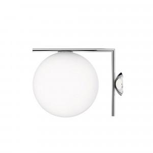 IC lights C/W1 vägglampa - krom