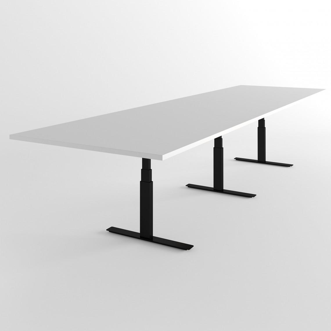Höj- och sänkbart konferensbord Modul - (Rektangulärt)
