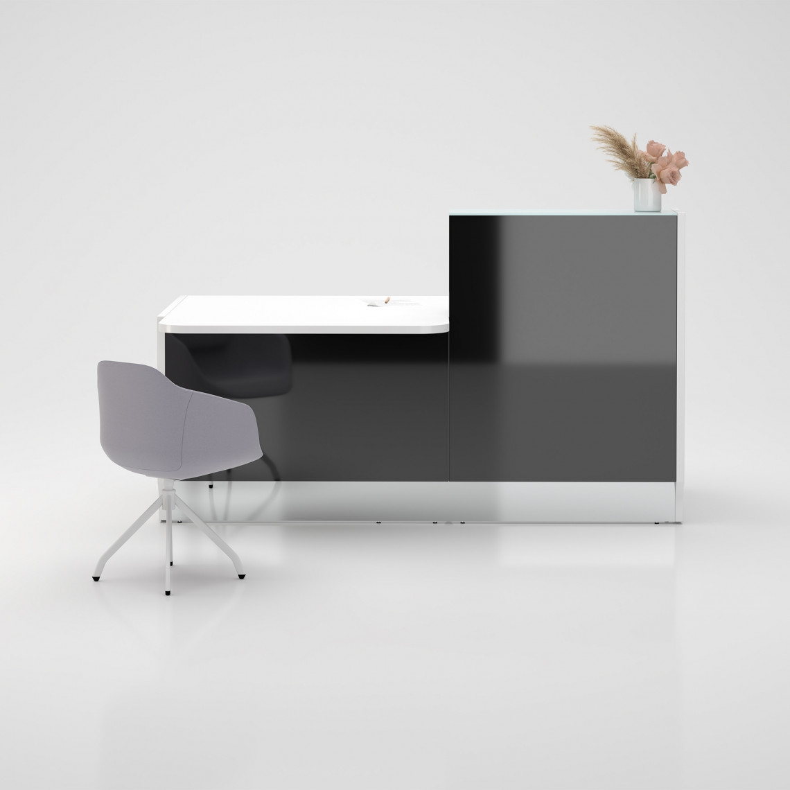 Receptionsdisk Linea Modell 6