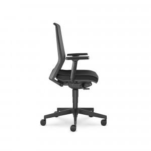 Look, svart - Ergonomisk kontorsstol