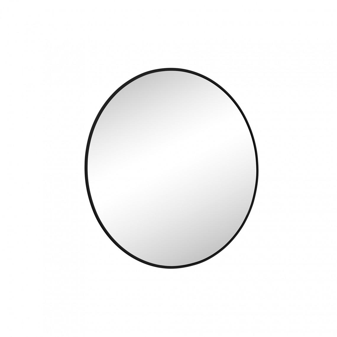 Spegel Haga Rund