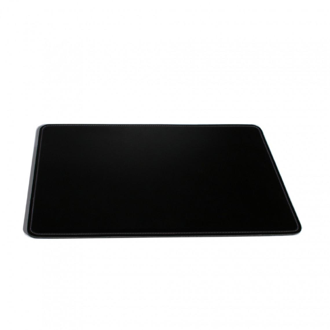 Skrivbordsunderlägg - Läder svart