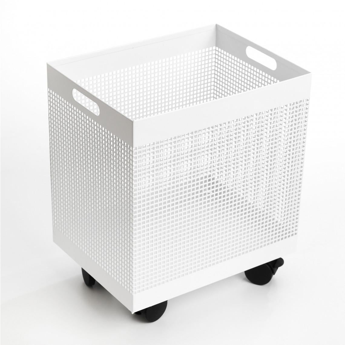 Pappersbox -  Square Vit