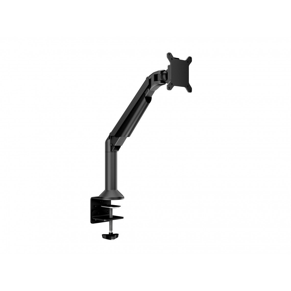 M VESA Gas Lift Arm Desk or Wall Basic Black