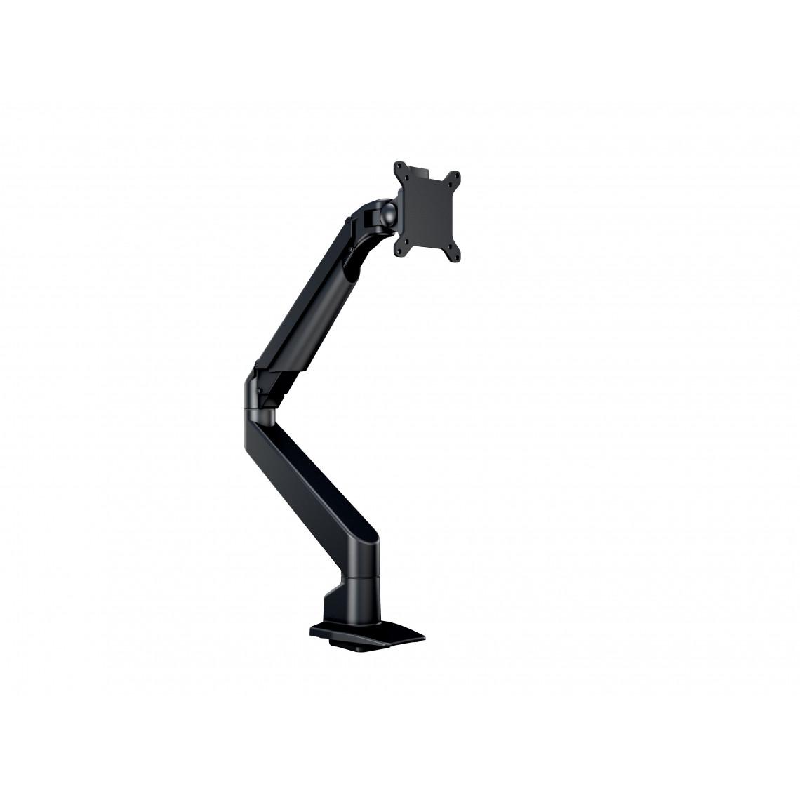 M VESA Gas Lift Arm Single Black