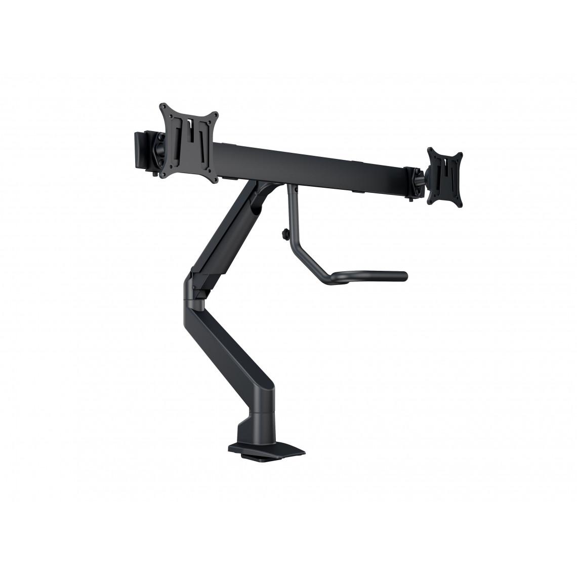 M VESA Gas Lift Arm w. Duo Crossbar 2 Black