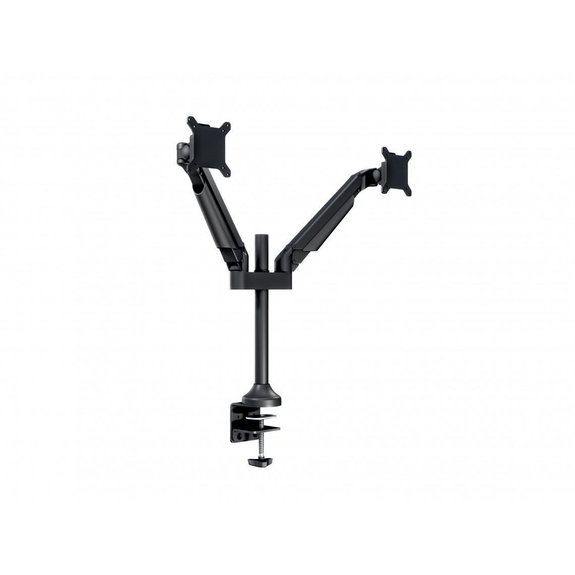M VESA Gas Lift Arm Dual Black