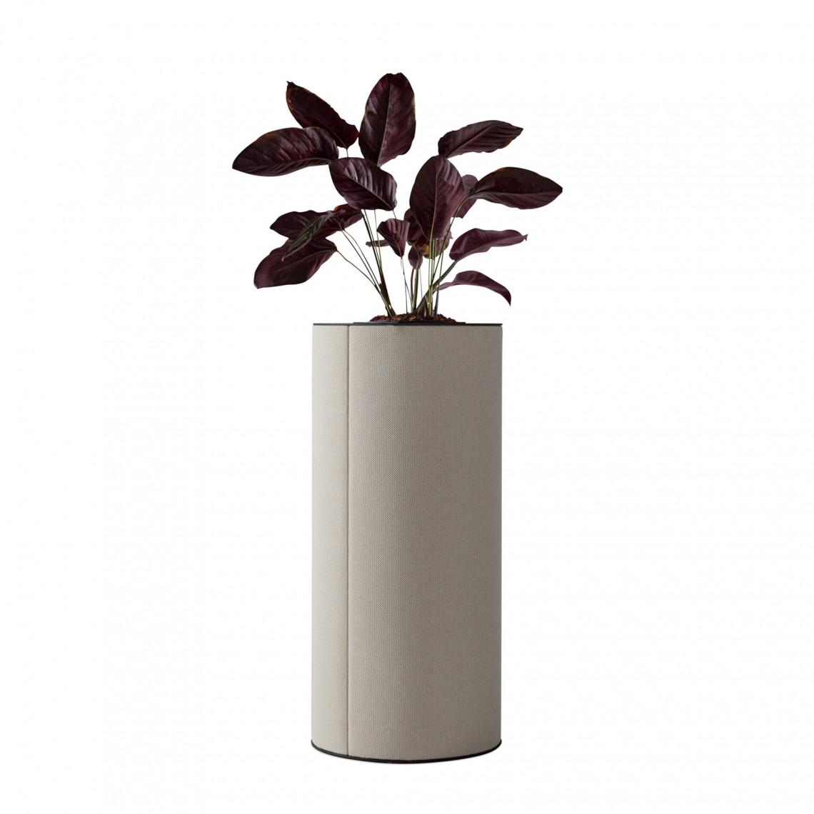 dB Pelare med blomsterkruka 110 cm hög