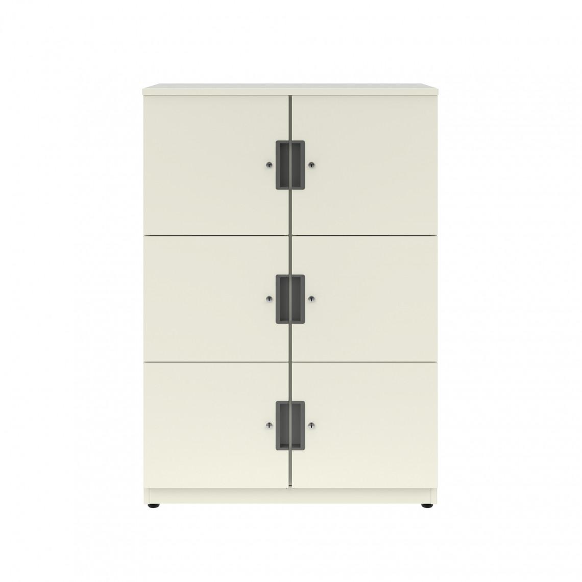 BE förvaringsskåp - 6 dörrar