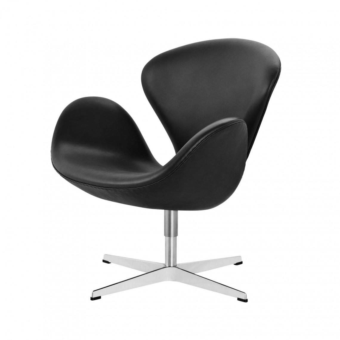 Lounge fåtölj SWAN™ -Läder