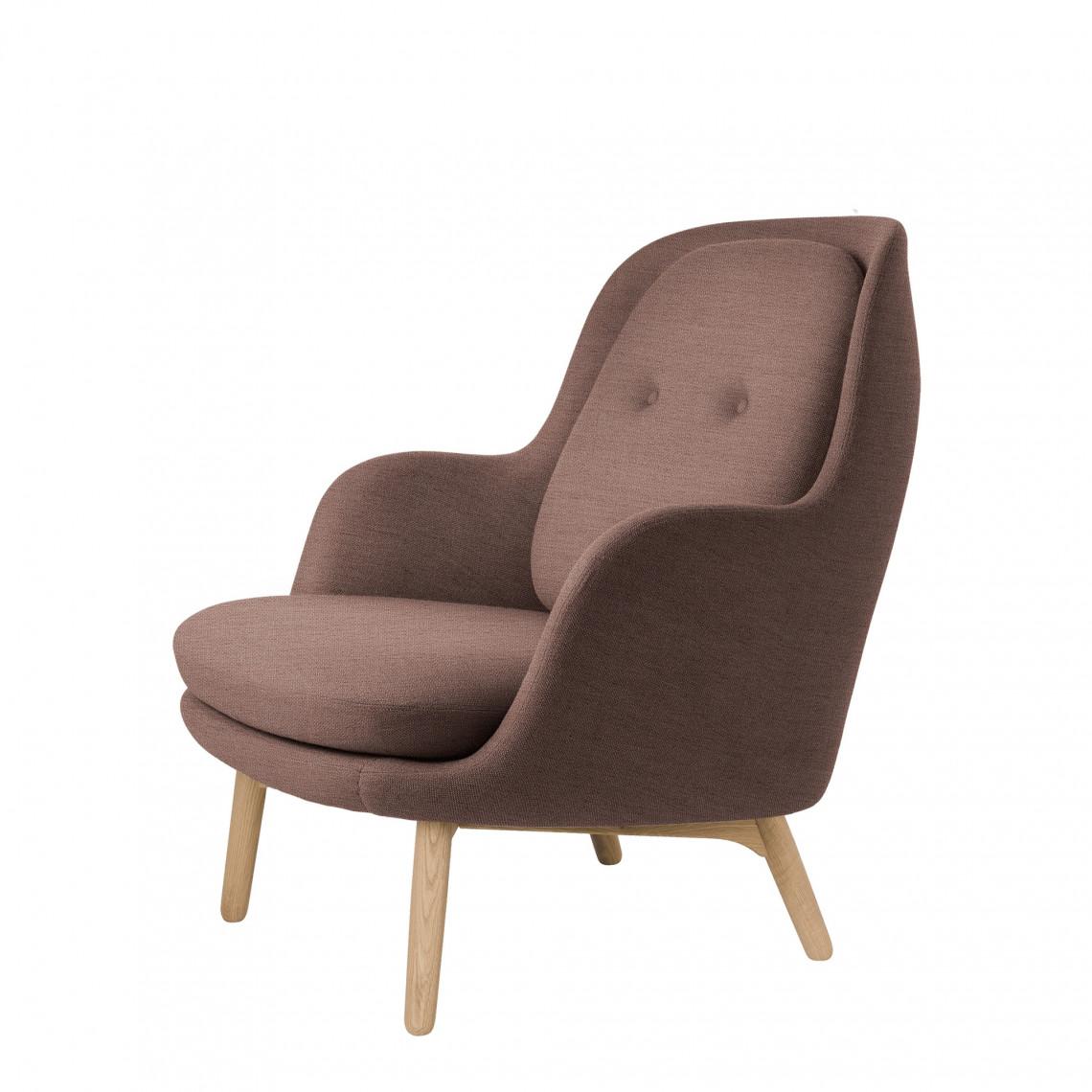 Lounge fåtölj FRI™ - Klädd i tyg Christianshavn