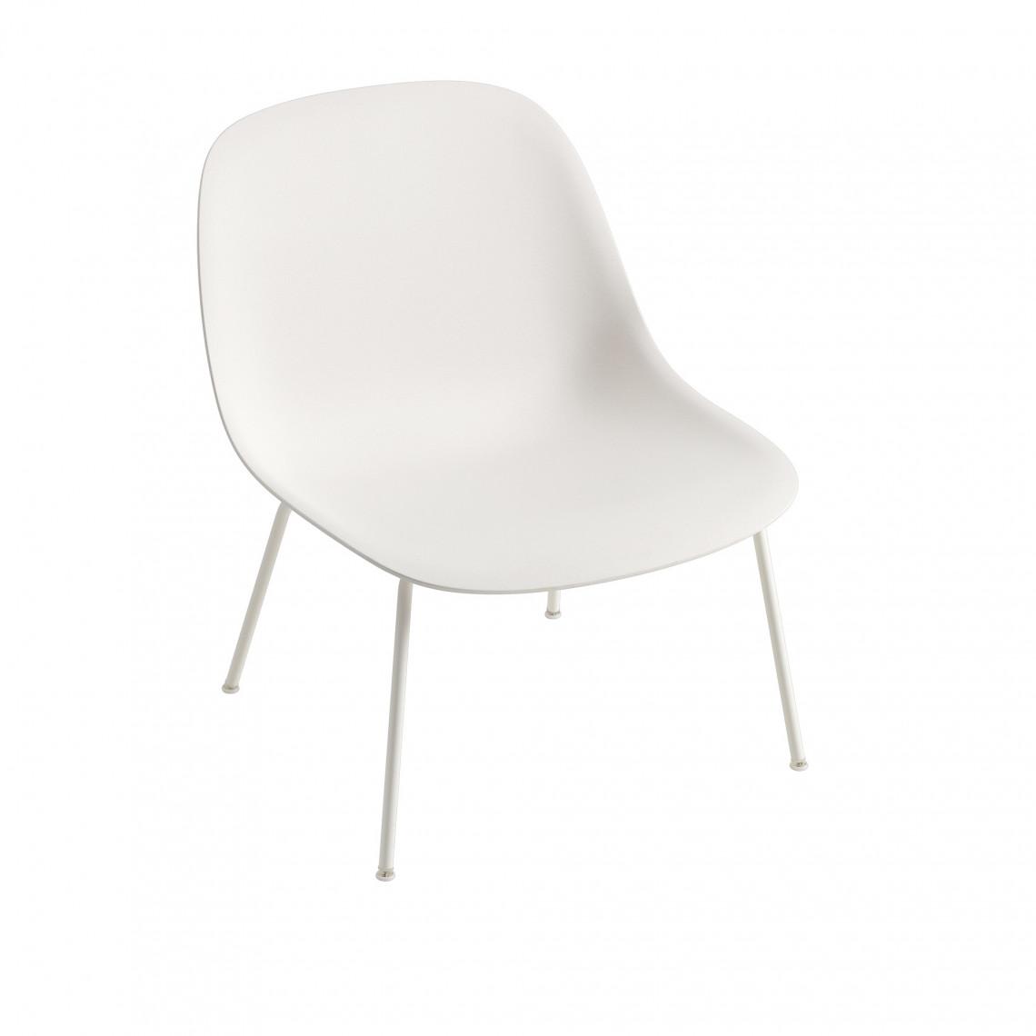 Fiber Lounge Chair med 4 ben