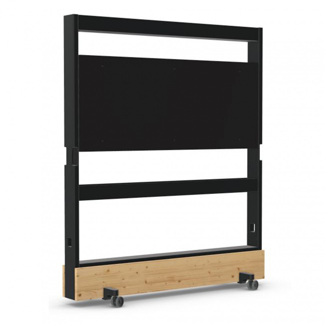 Vitra Dancing Wall - med monitorfäste och elhylla