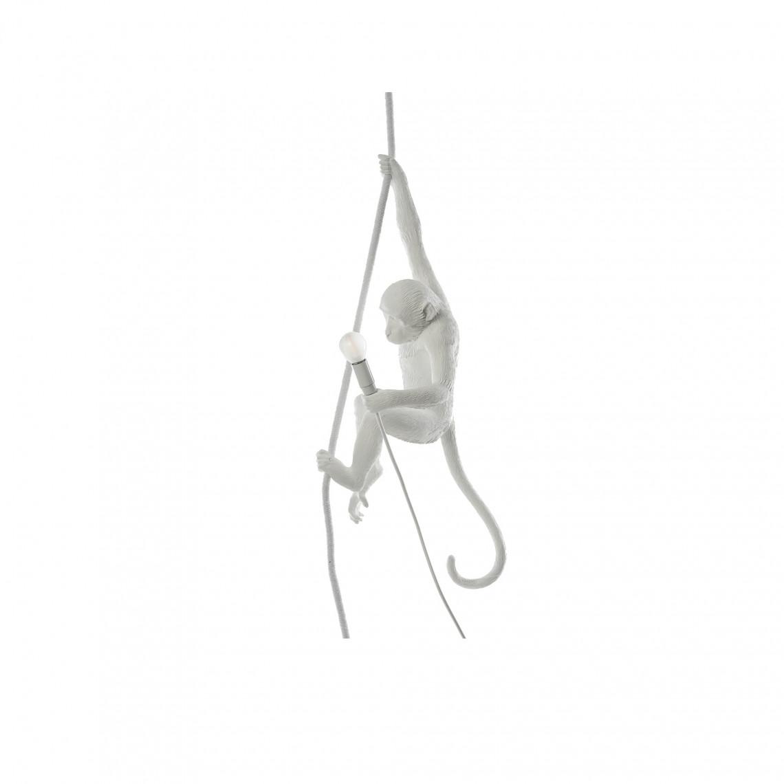 The Monkey Lamp Ceiling - Vit