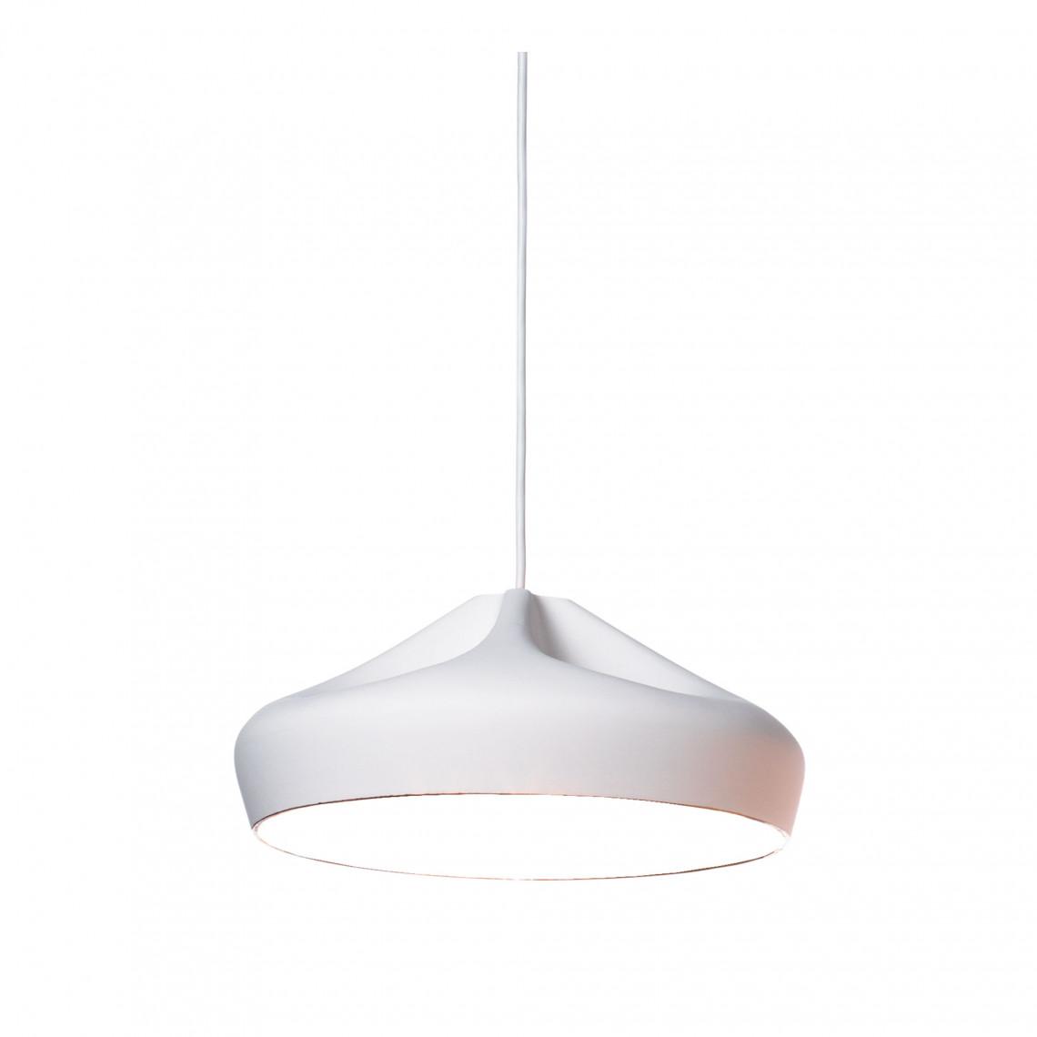 Pleat Box 36 - Pendant Lamp White/White