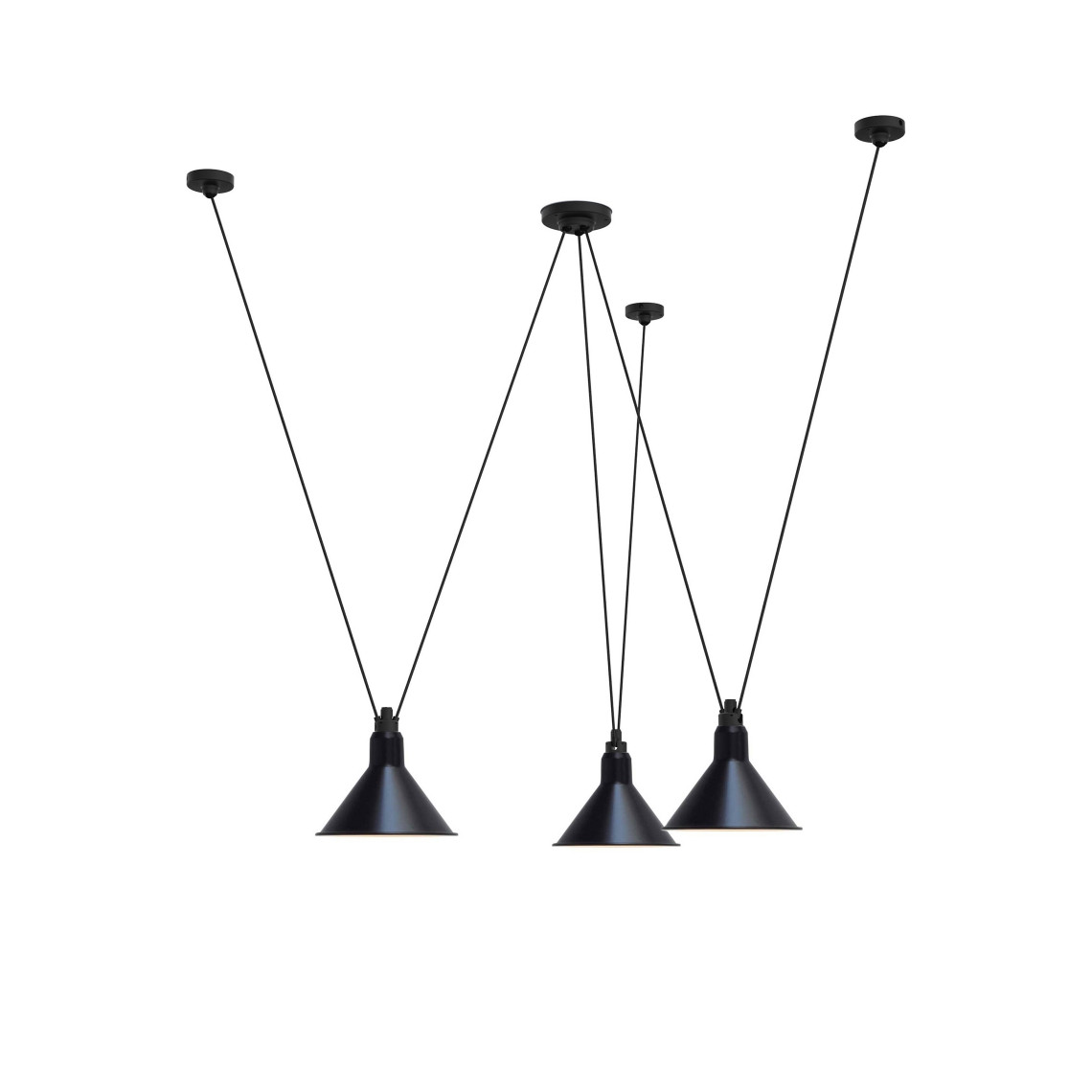 Les Acrobates de Gras No 325 - Conic XL Black