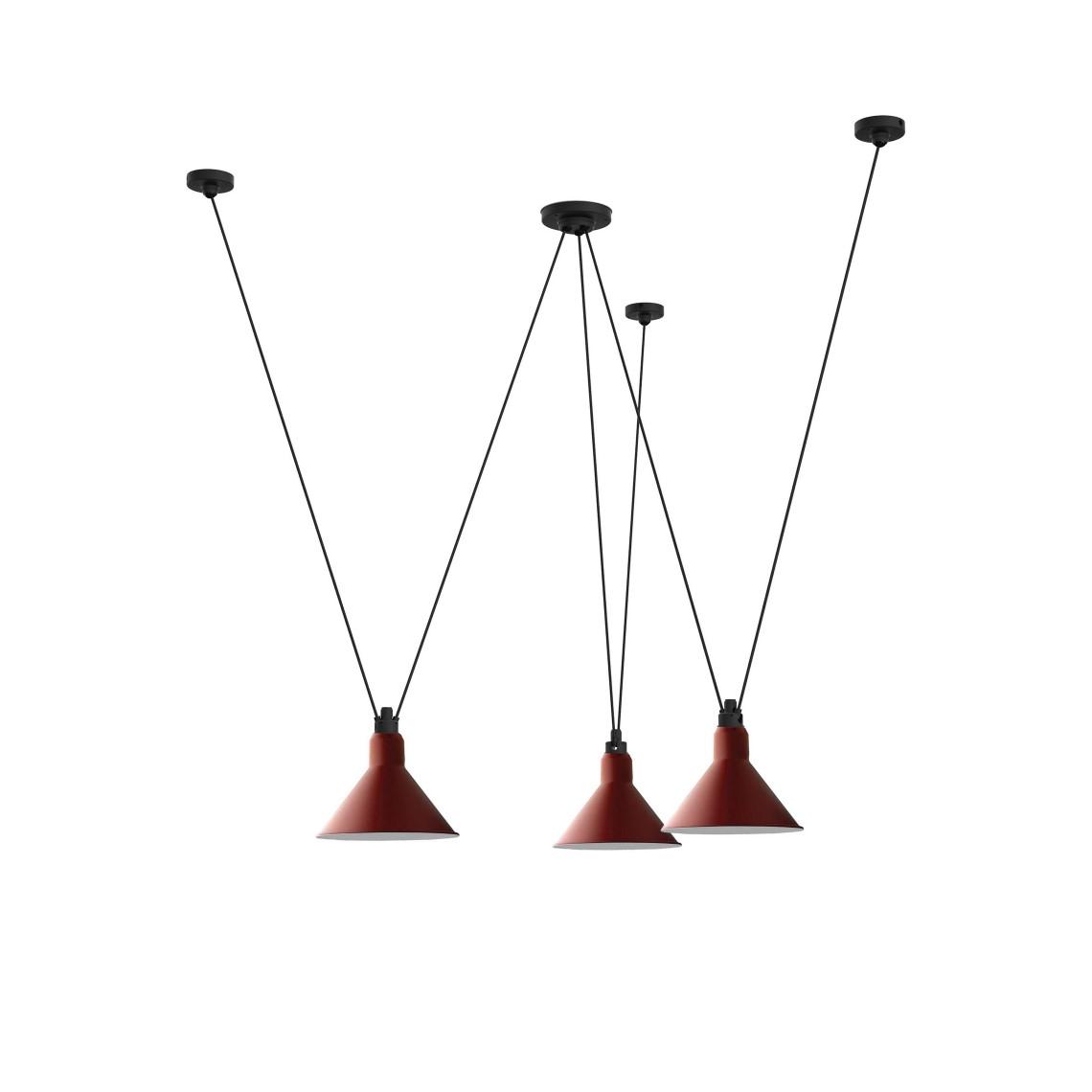 Les Acrobates de Gras No 325 - Conic XL Red