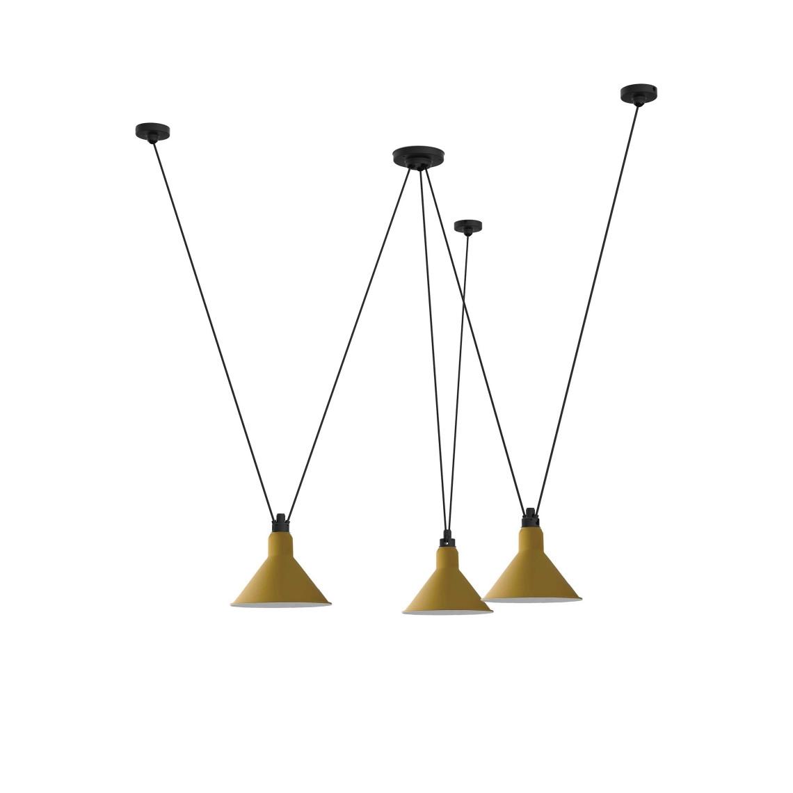 Les Acrobates de Gras No 325 - Conic XL Yellow