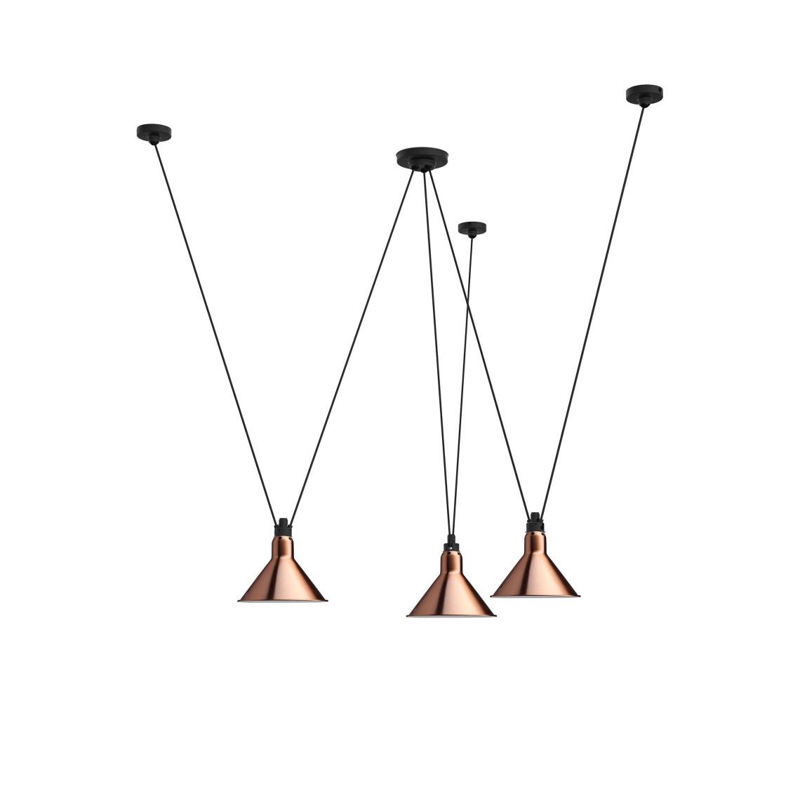 Les Acrobates de Gras No 325 - Conic L Copper / White