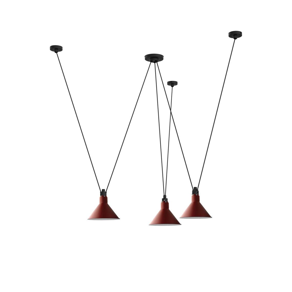 Les Acrobates de Gras No 325 - Conic L Red