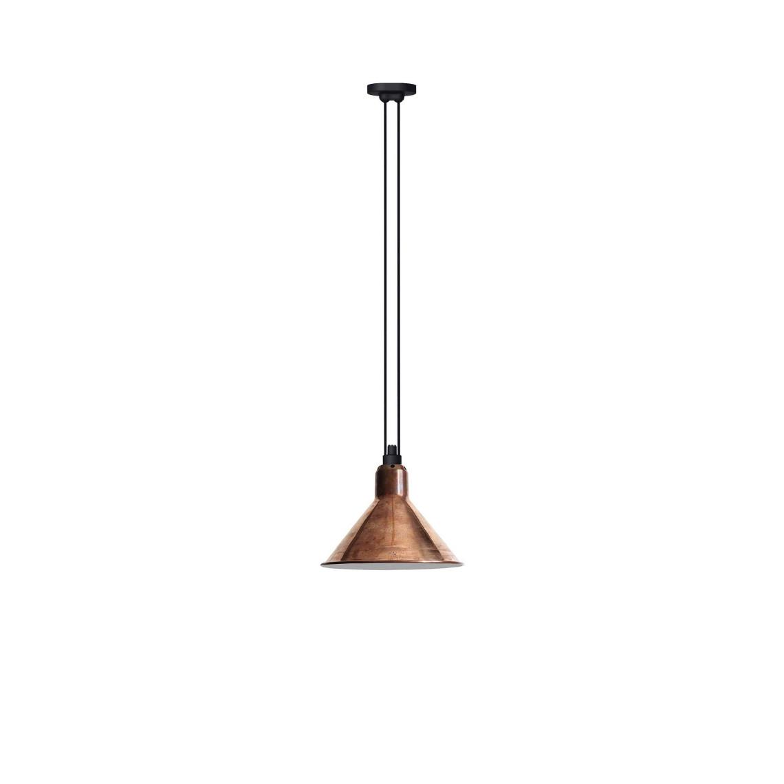 Les Acrobates de Gras No 322 - Conic L Raw Copper / White