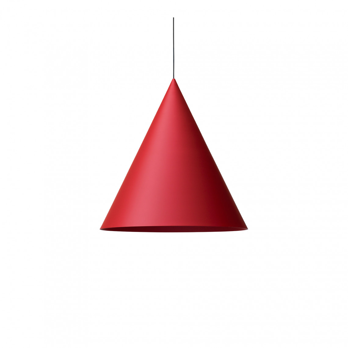 Extra Large Pendant w151s2 Carmine Red