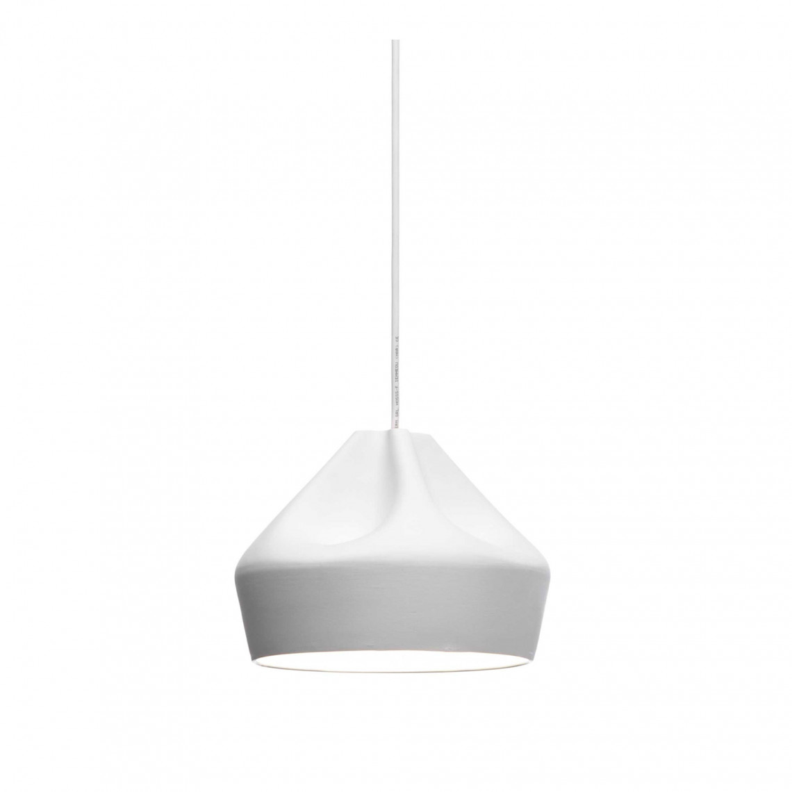 Pleat Box 24 - Pendant Lamp White/White