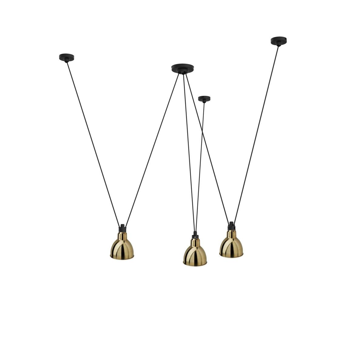 Les Acrobates de Gras No 325 - Round L Brass