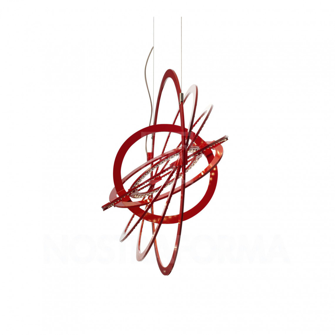 Copernico 500 Pendellampa Röd