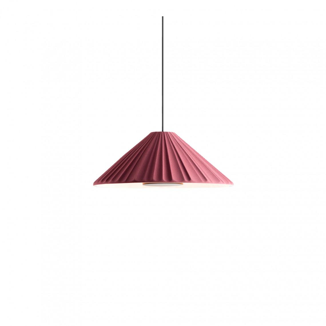 Pu-erh 32 - Pendant Lamp Burgundy/White