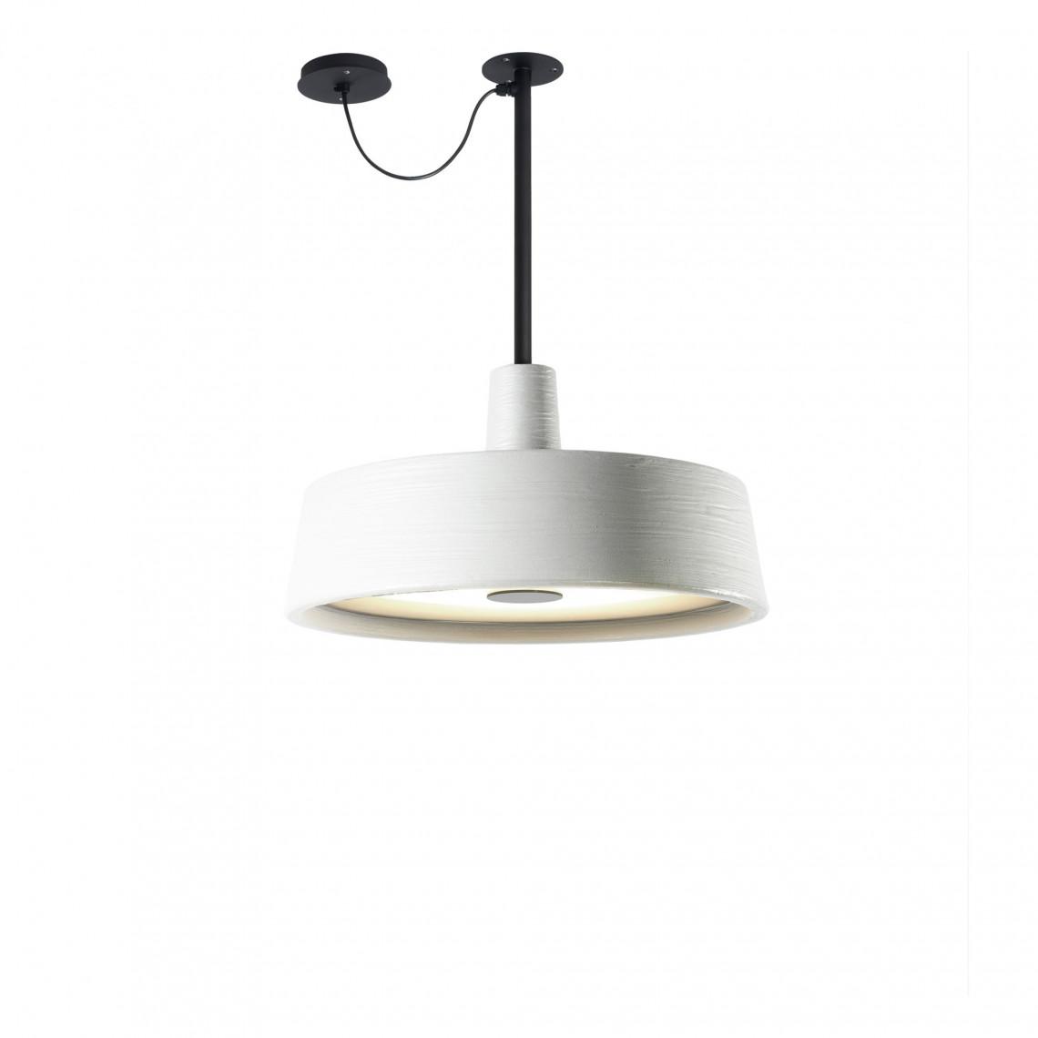Soho C Fixed Stem Outdoor - Pendant Lamp White