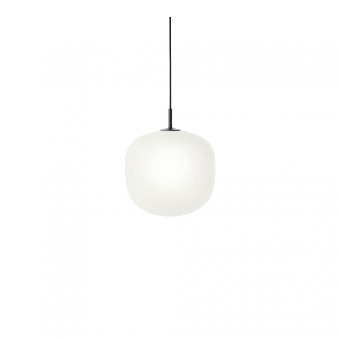 Rime Pendant Lamp Ø 25 cm Black