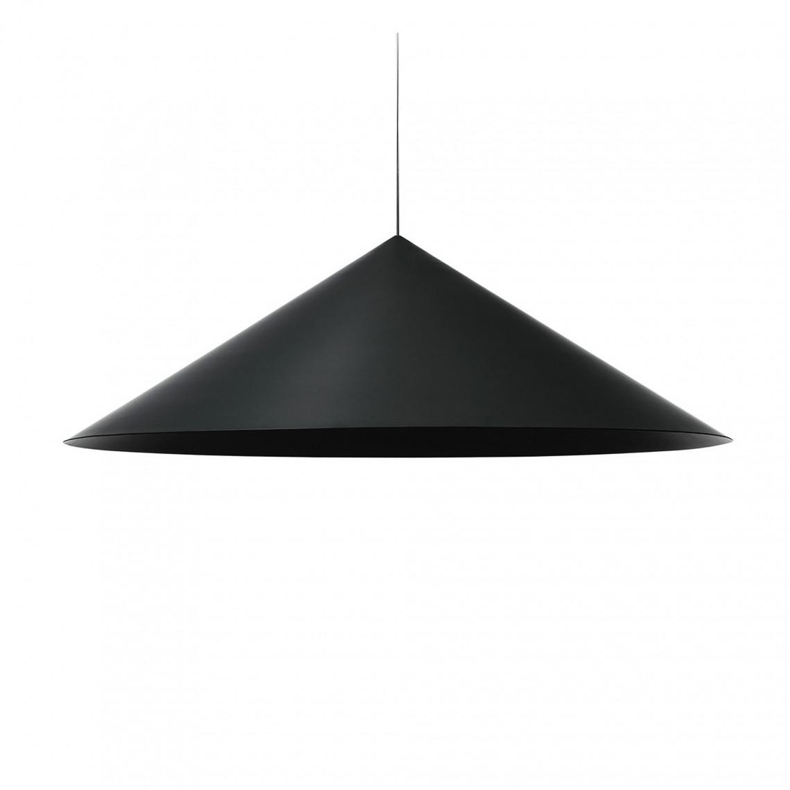 Extra Large Pendant w151s3 Jet Black