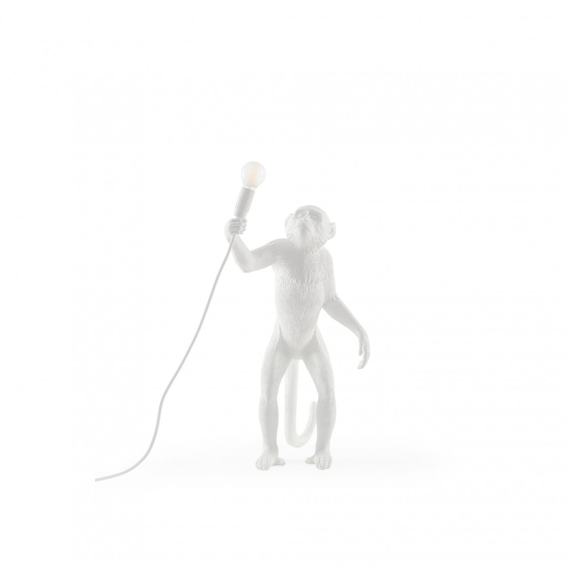 The Monkey Lamp Standing - Vit