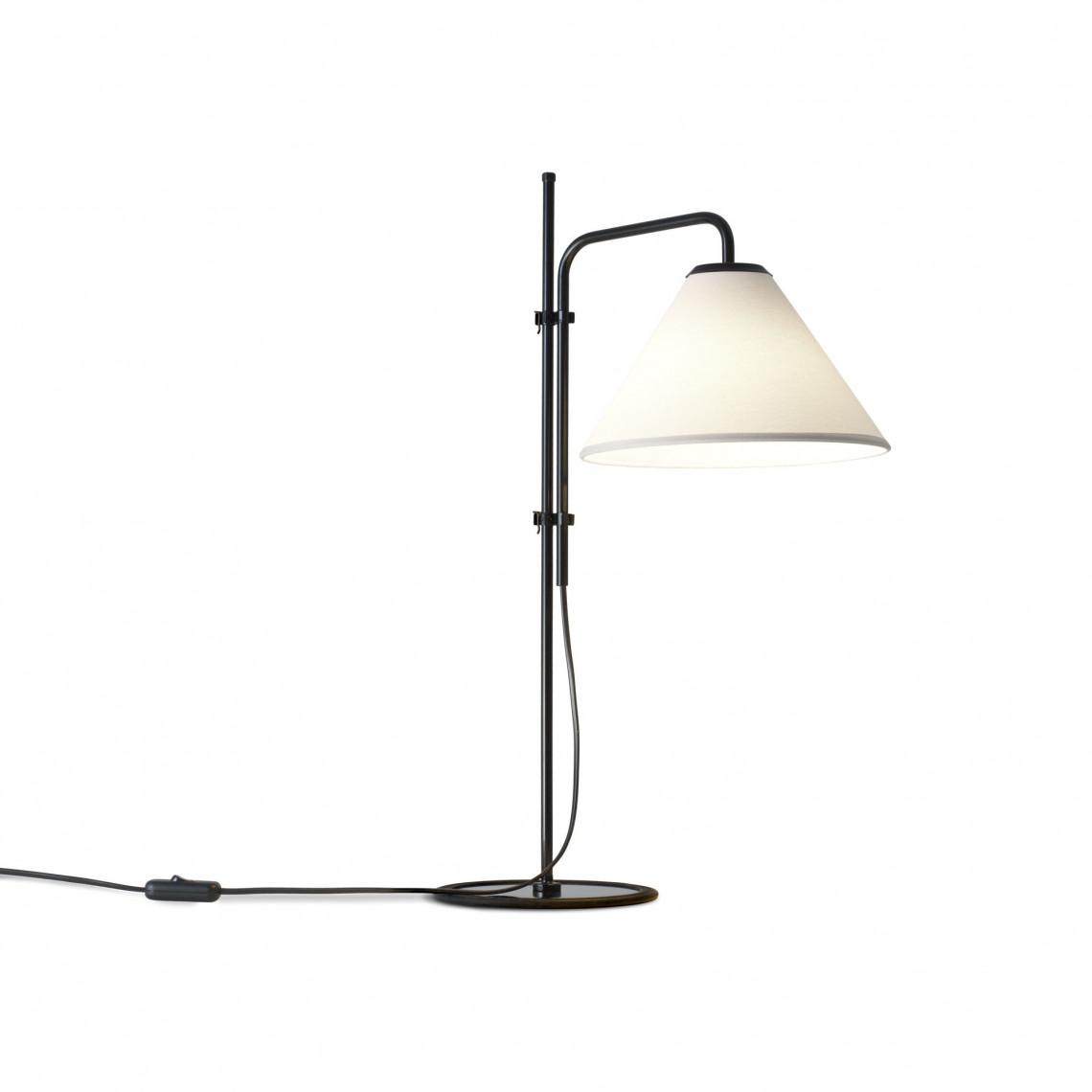 Funiculi S Fabric - Table Lamp Black/White