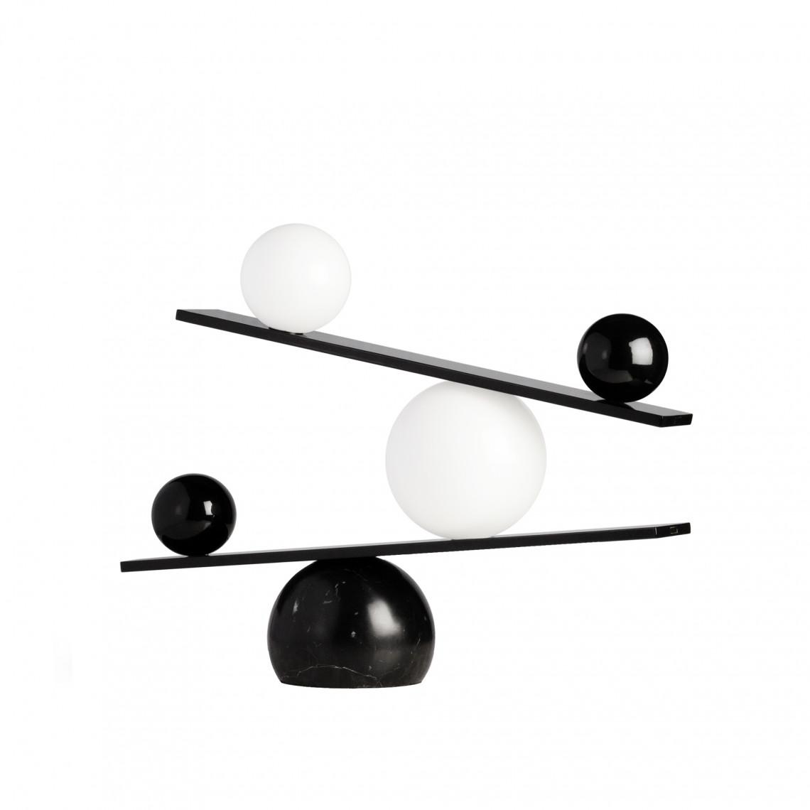 Balance Table Lamp Black
