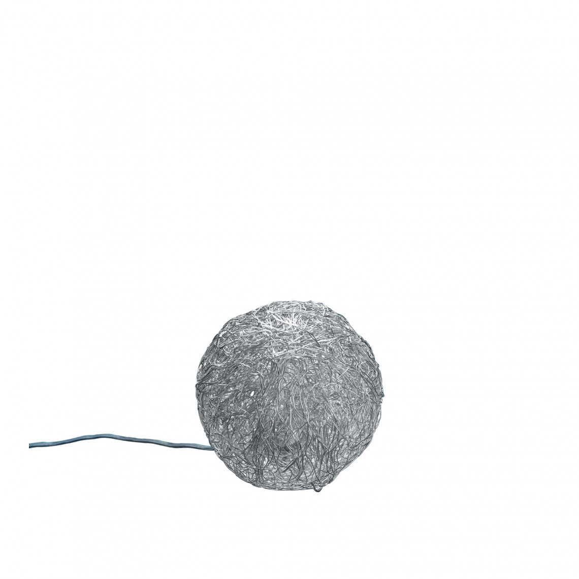 Sweet Light - Bordslampa Silverfärgad aluminium