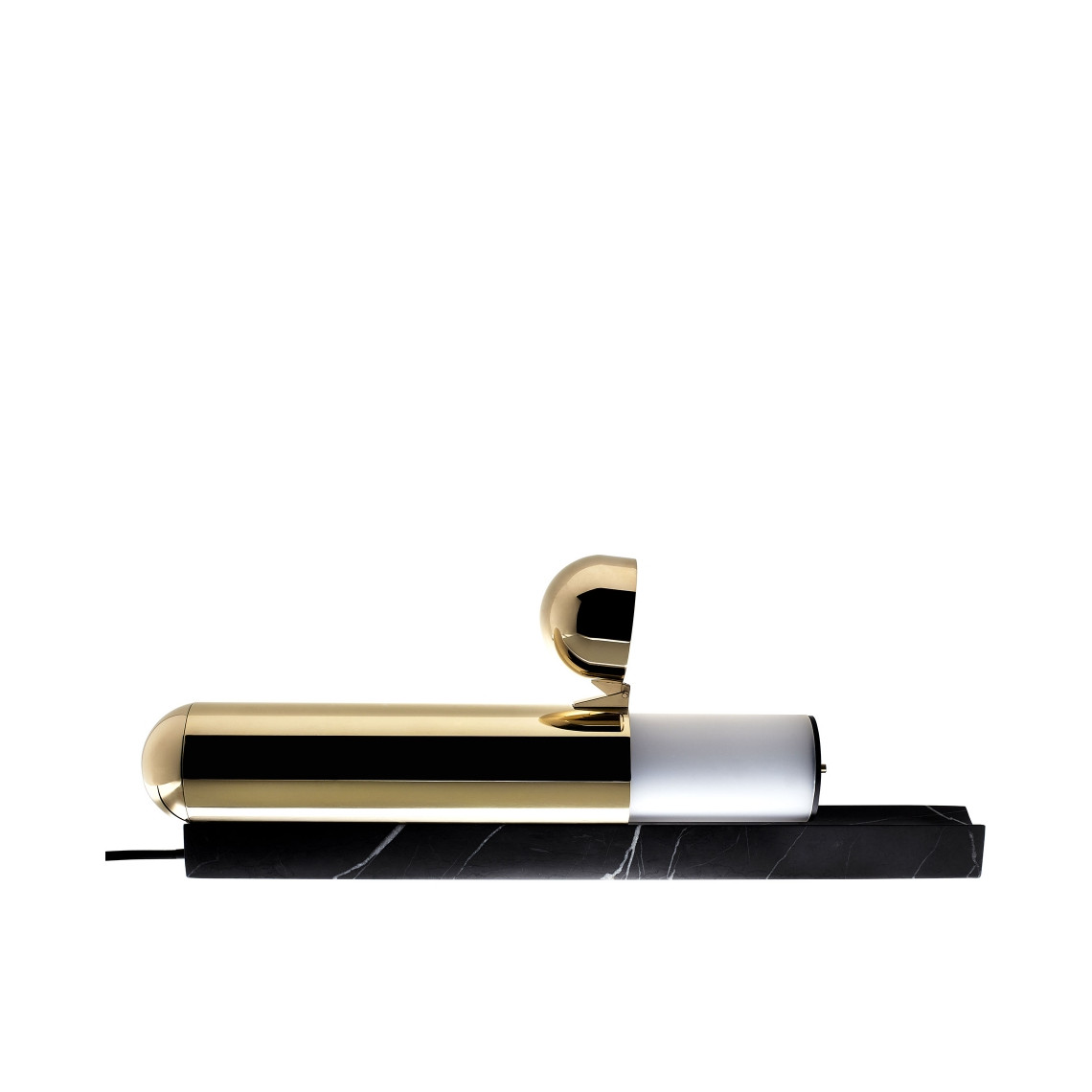 ISP - Bordslampa Svart Marmorbas