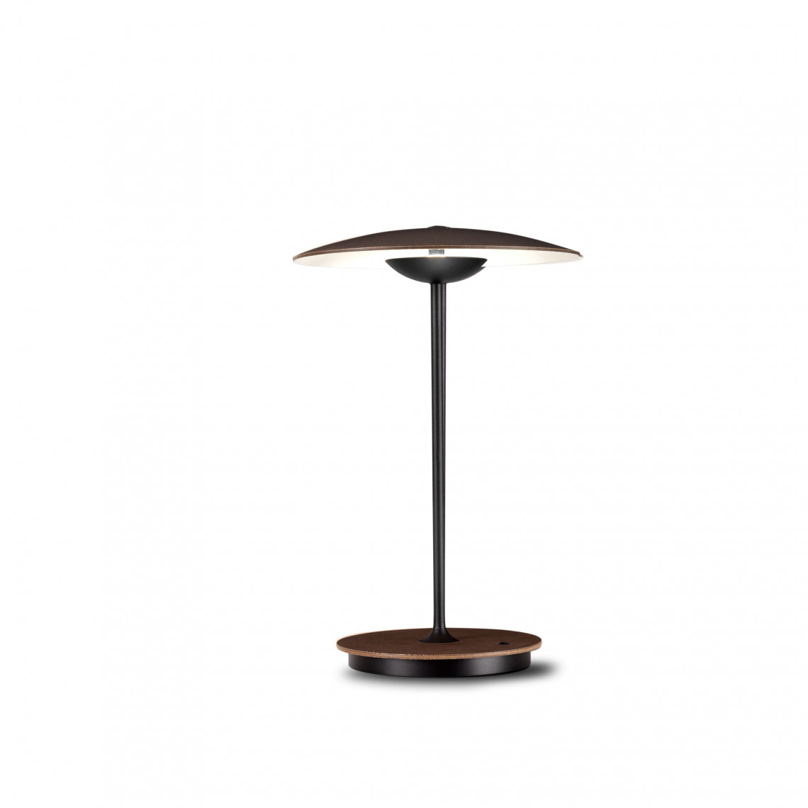 Ginger 20 M - Portable Table Lamp Wenge