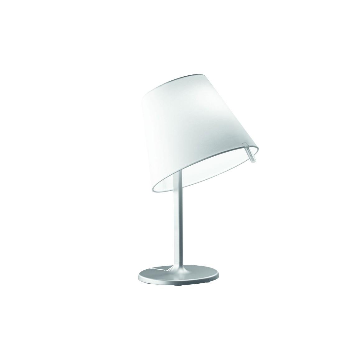 Melampo Notte Bordslampa Aluminiumgrå