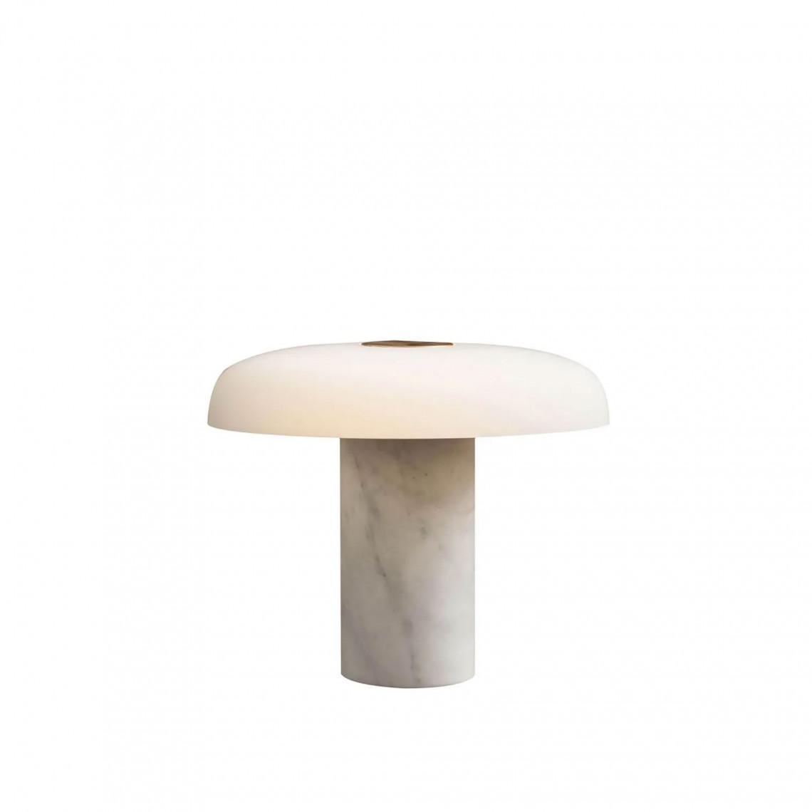 Tropico - Bordslampa Carrara Marmor