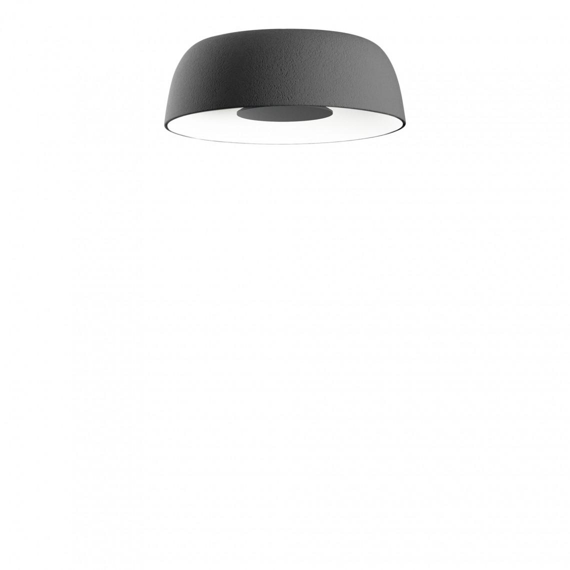 Djembé C - Ceiling Lamp Grey