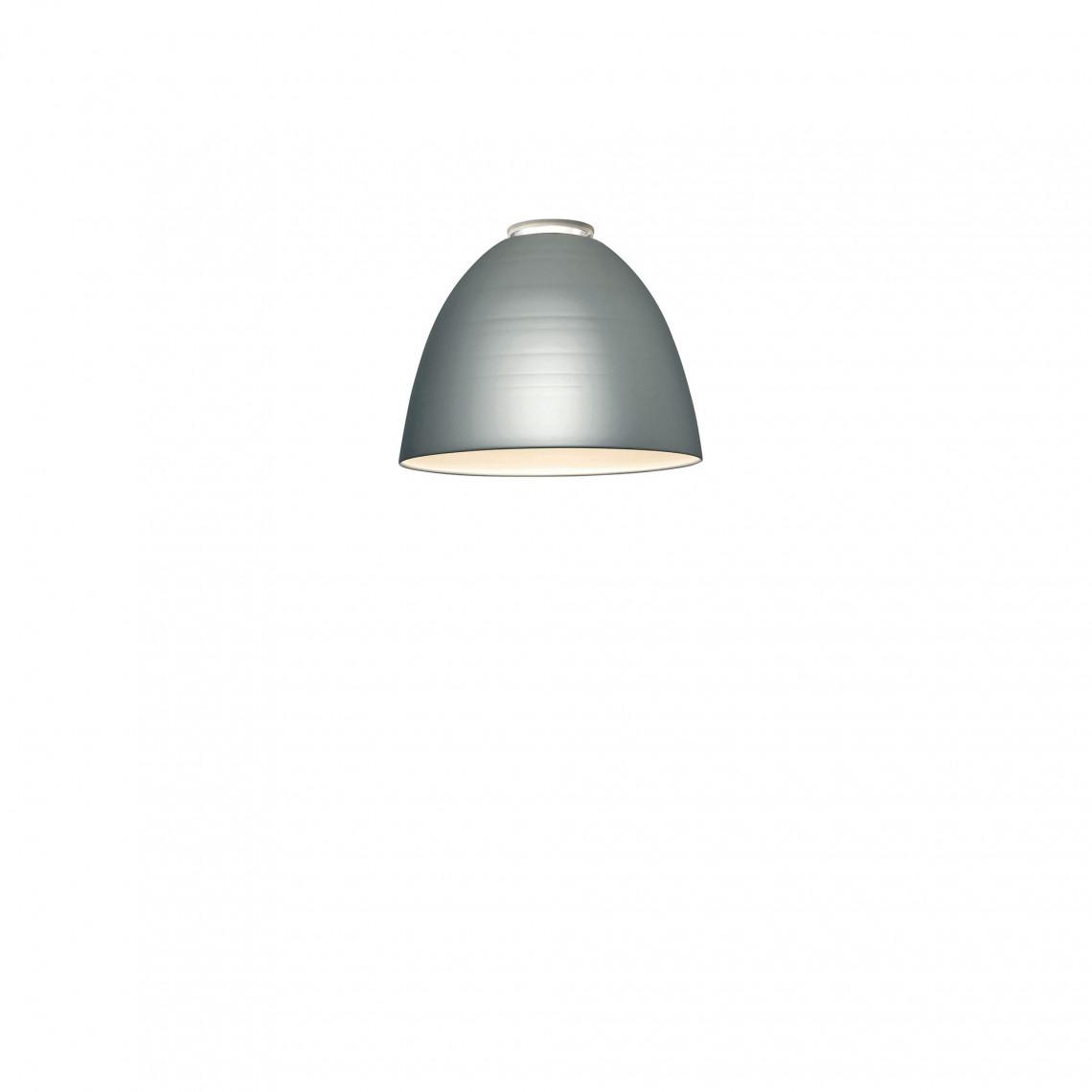 Nur Mini Taklampa Aluminiumgrå