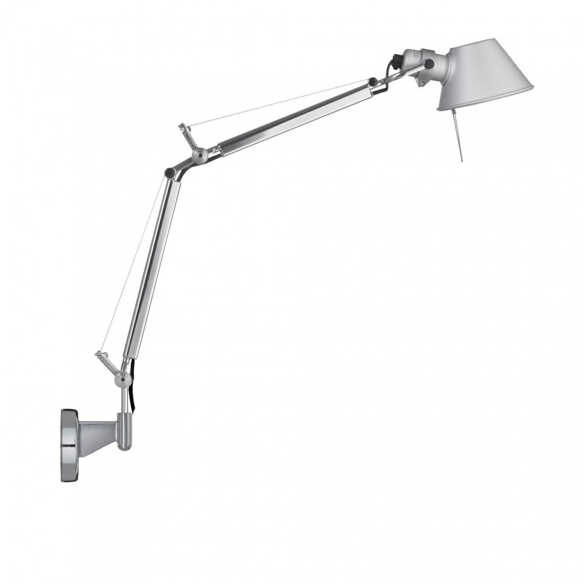 Tolomeo Micro Vägglampa Aluminium