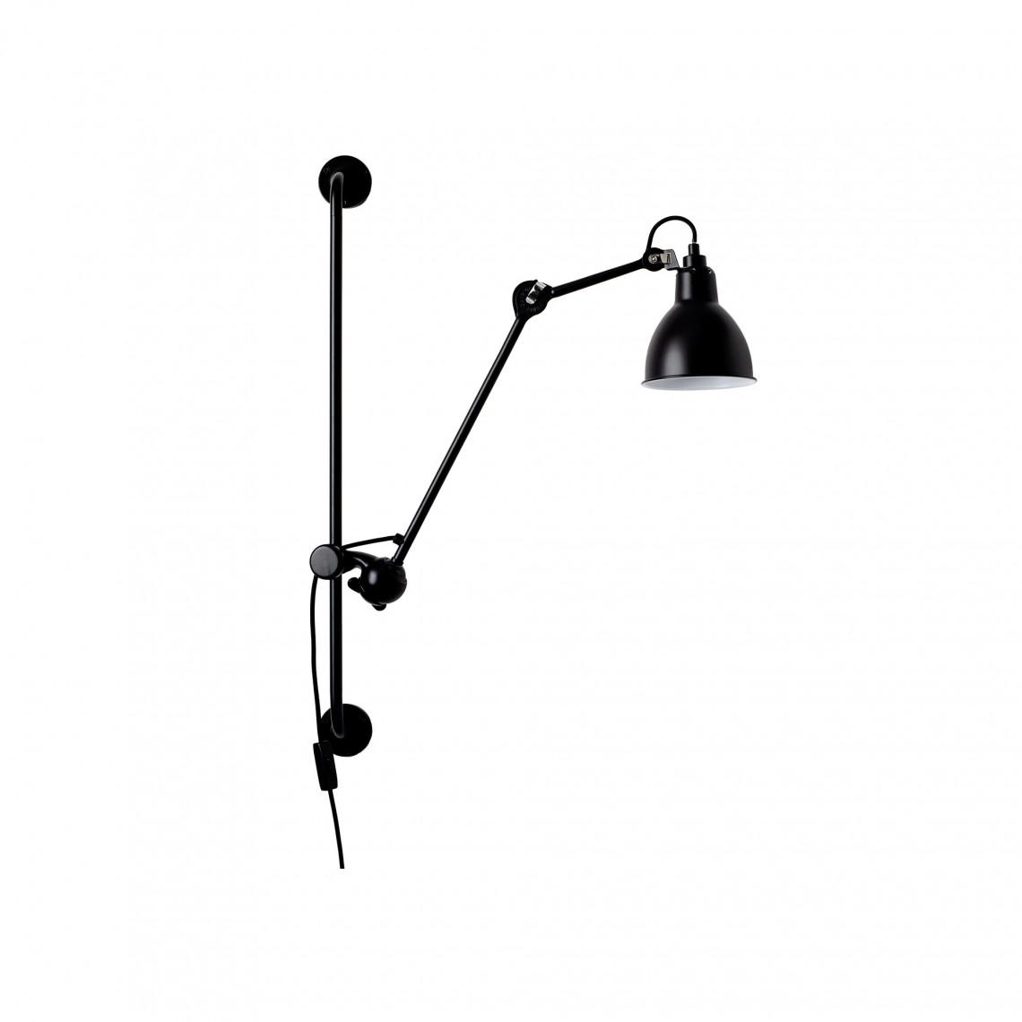 Lampe Gras No210 - Round Svart