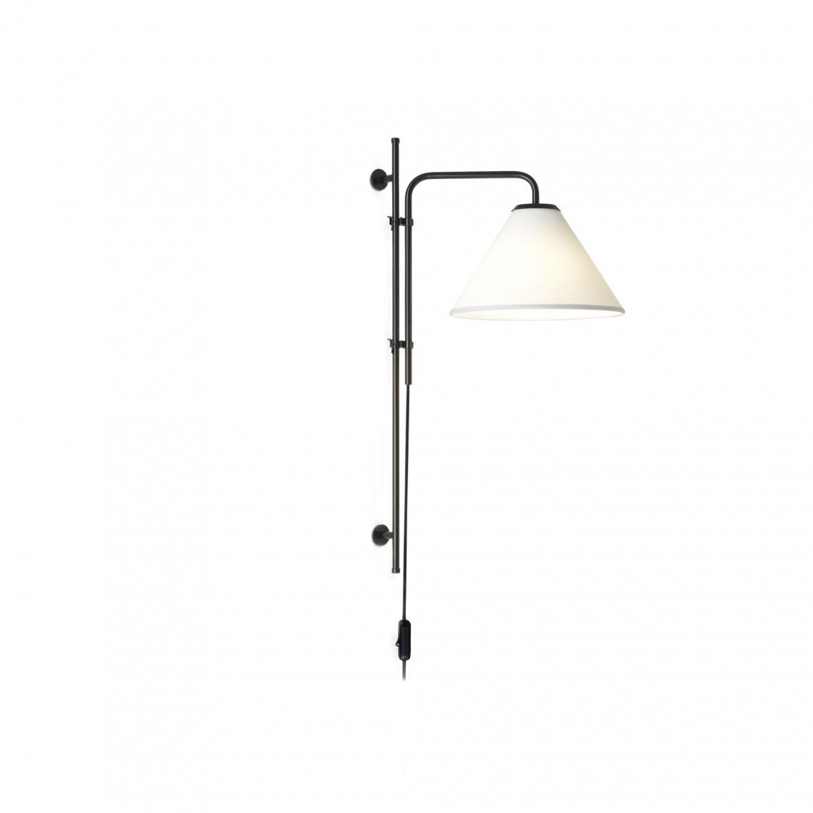 Funiculi A Fabric - Wall Lamp White