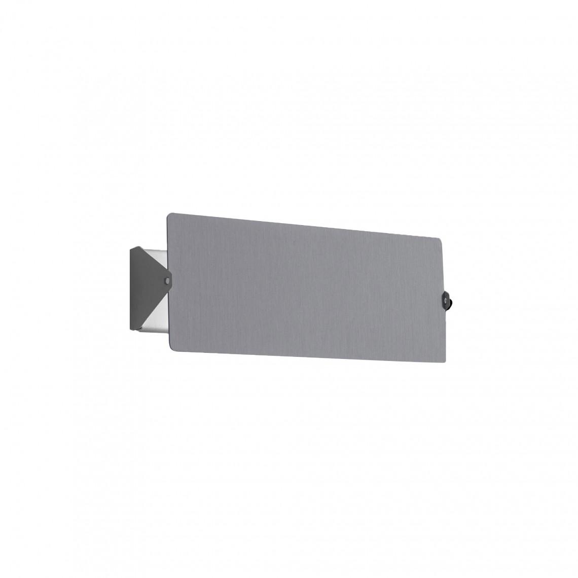 Applique À Volet Pivotant Double Aluminium