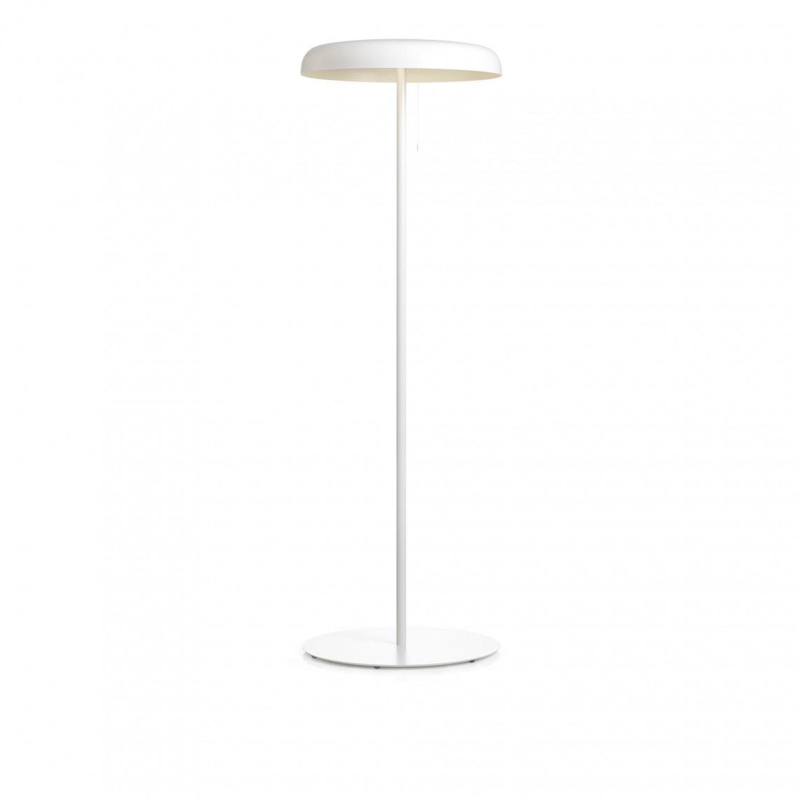 Mushroom - Golvlampa Vit