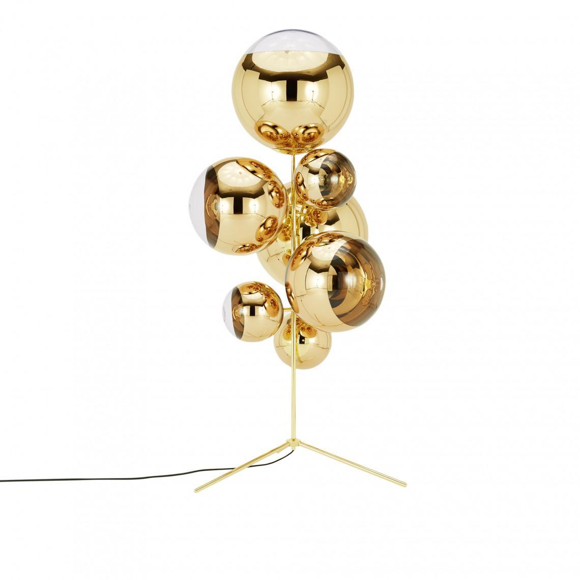 Mirror Ball Stand Chandelier