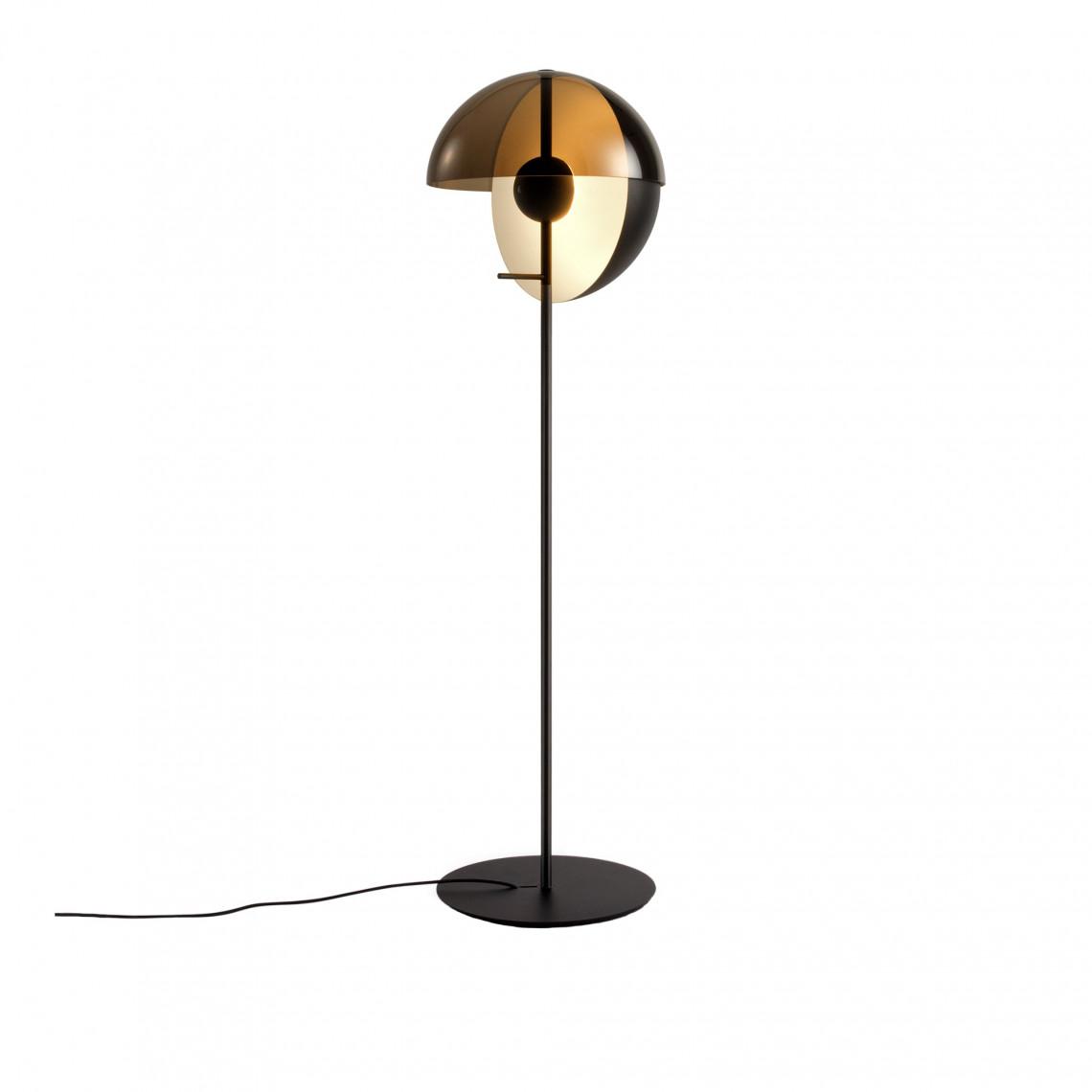 Theia - Floor Lamp Black